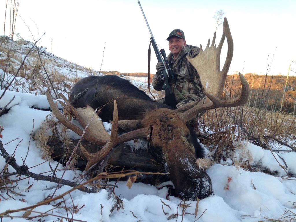 November Moose Hunting Wild Kakwa Outfitters