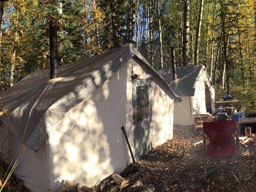 Alberta Hunting camp